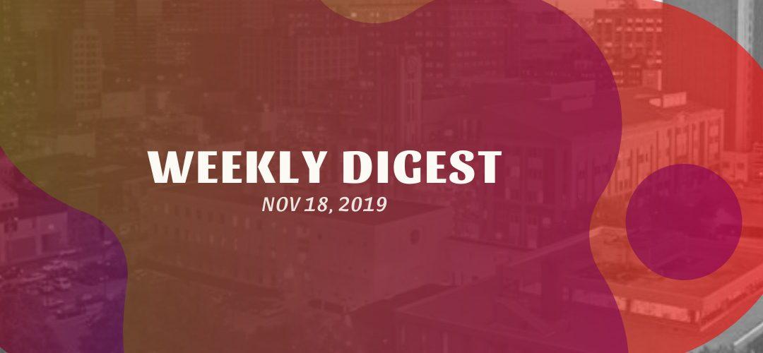 Newsletter – November 18