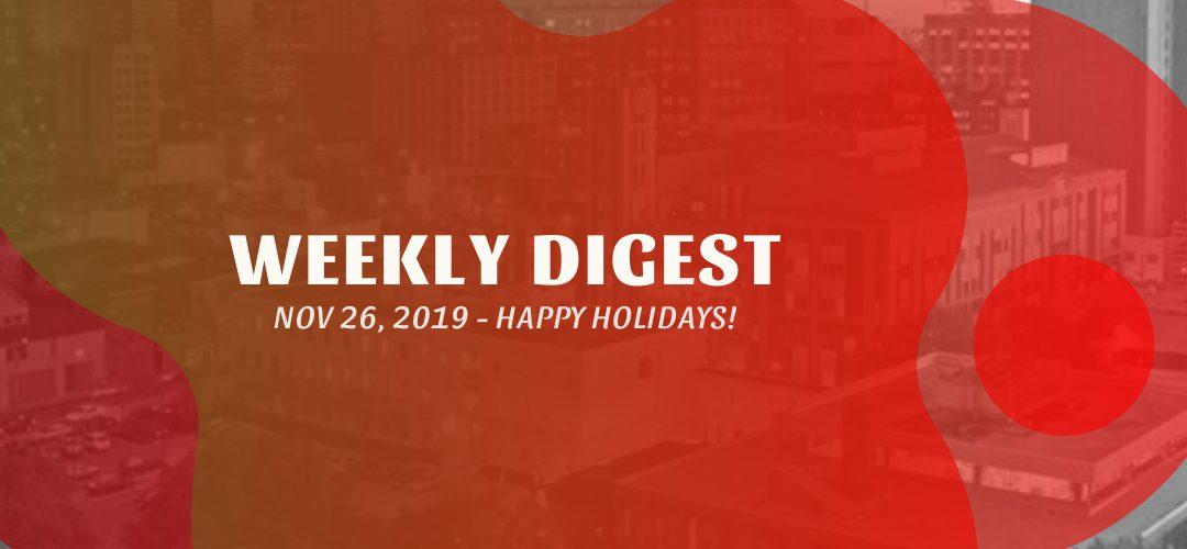 Newsletter – November 26