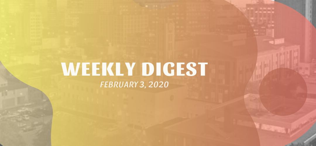 Newsletter – February 3