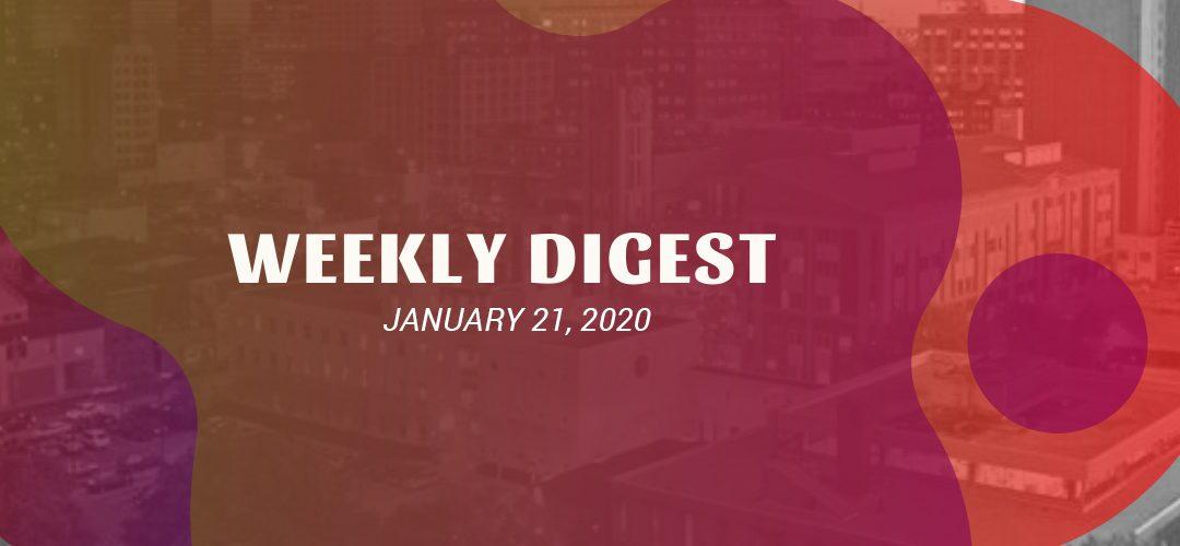 Newsletter – January 21